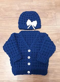 Ravelry: Peyton Baby Cardigan & Hat pattern by michelle stalker Crochet , Ravelry: Peyton Baby Cardigan & Hat pattern by michelle stalker Ravelry: Peyton Baby Cardigan & Hat pattern by michelle stalker Baby knitting patterns.