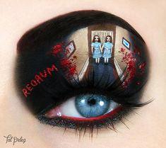 De jolis maquillages créatifs inspirés des films cultes et de la pop culture
