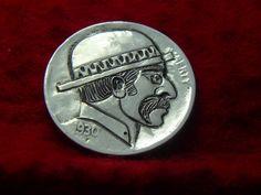 1930 P Hobo Nickel The Man with Walrus Mustache 432 | eBay