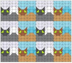 """2 1/2"""" unfinished squares."""