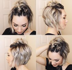 15 best cute bob hairstyles 202015 best cute bob hairstyles 202025 Pixie Short Hairstyle Ideas For Women Trend bob hairstyles 201925 Pixie Short Hairstyle Ideas For Women Trend Bob Hairstyles 2019 haare haarschnitt frisuren trendfrisuren Braids For Short Hair, Cute Hairstyles For Short Hair, Pixie Hairstyles, Short Hair Cuts, Curly Hair Styles, Short Bob Updo, Pixie Updo, Short Hair Top Knot, Haircuts