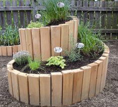 cute for garden  wood planter for public spaces NORITEC