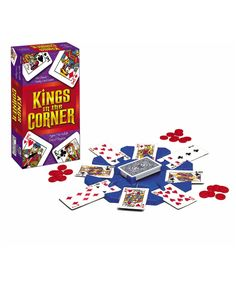 Kings in the Corner Game Kings Card Game, Canasta Card Game, Classic Card Games, Unique Cards, Your Turn, Mens Gift Sets, Baby Clothes Shops, Online Games, House Warming