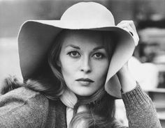 Faye Dunaway, 70s floppy hat