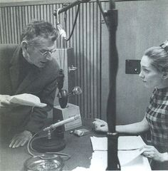 Siân Phillips and Samuel Beckett Samuel Beckett, I Love You, My Love, Modern Masters, Thoughts, Books, Writers, Te Amo, Libros