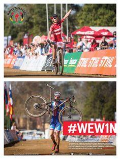 Jaroslav Kulhavy y Annika Langvad han ganado los Campeonatos del Mundo de Maratón MTB 2014. Kulhavy ahora forma parte de ese pequeño grupo de ciclistas que han ganado tres títulos de la UCI, y lo ha hecho sobre su S-Works Epic 29er. Annika ha conquistado el maillot arcoíris con su nueva S-Works Era 29er 2015, la mejor elección para mujeres que quieren ganar.