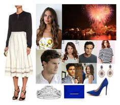 """""""Opening the Dubrovnik Summer Festival"""" by hrh-amelia-of-croatia ❤ liked on Polyvore featuring Alexander McQueen, Modern Bride, Whiteley, Silvia Furmanovich and BCBGMAXAZRIA"""