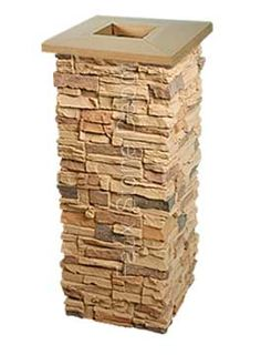 faux stone post wraps panels faux brick stacked stone veneer siding faux stone