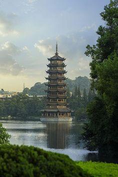 Guilin Pagoda, China