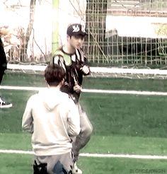 Kai and Kyungsoo #kaisoo #D.O. #jongin