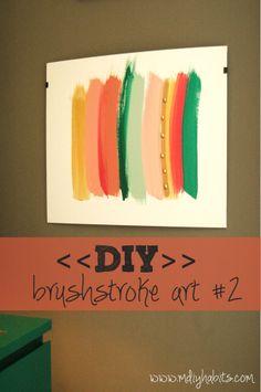 brushstroke art-JC could do this