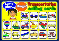ESLCHALLENGE - English teaching resources - BINGO FUN PACKAGE http://eslchallenge.weebly.com/packs.html