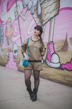 http://www.paulinefashionblog.com/ #PimkiePrivateCollection #Sweat #Short @Pimkie X @Camille Charrière