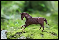 Year of the Horse in Origami by FoldedWilderness.deviantart.com on @deviantART