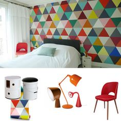 1000 images about papier peint on pinterest wallpapers deco and osborne and little. Black Bedroom Furniture Sets. Home Design Ideas