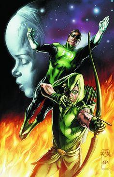 Green Lantern and Green Arrow by Doug Braithwaite