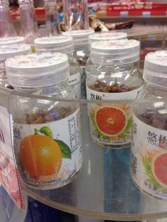 Candies from natural fruits