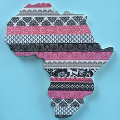 My Etsy Shop, Wall Decor, African, Trending Outfits, Unique Jewelry, Handmade Gifts, Pink, Shopping, Vintage