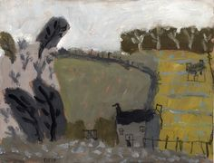 David Pearce, Small Paintings Paintings Cornfield Painting