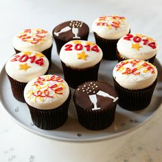 More® Happy New Year Cupcakes, Set of 9