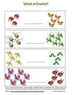 Bugs! Math Centers