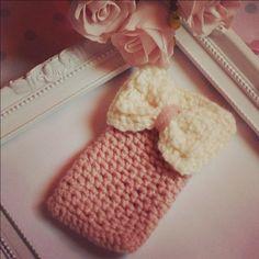 Crochet Iphone cover/ cozy