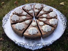 Mia bakar: Kladdkaka med daimpannacotta Muffins, Desserts, Food, Tailgate Desserts, Muffin, Dessert, Postres, Deserts, Meals