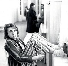 A young Christoph Waltz