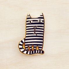 Image of Donna Wilson Brooch – Mono Cat