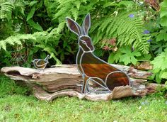 The Hare and the WrenStained Glass