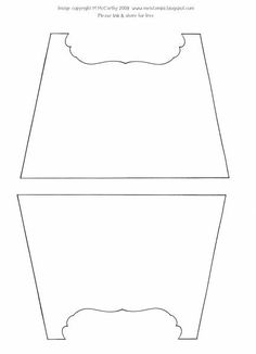 Curvy Purse Box Template By Stampztoomuch