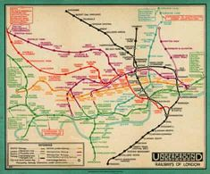 London Underground Map 1932 by Transport for London - art print from King & McGaw London Tube Map, London Art, Framing Canvas Art, Poster Prints, Art Prints, Posters, London Transport, London Underground, Butterfly Art
