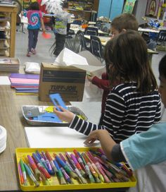 Routines in the elementary art room- lots of good ideas here