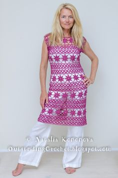 Outstanding Crochet: Crochet Dress                                                                                                                                                      More