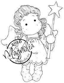 Magnolia Stamp - Merry Little Christmas Collection - Starlight Tilda