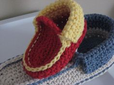 Cozy Crochet Slipper Pattern pdf, Comfy slippers for all sizes from  6mos.- size 14. $4.20, via Etsy.