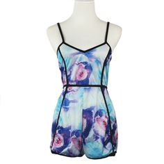 Brand new 1PC Sexy Women V-Neck Floral Casual Jumpsuit Playsuit Rompers Short Trousers S-XL 2016 #HespiridesGifts #amazing #beautiful #best #bestoftheday