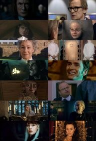 One amazing thing about British Actors is they will do anything. TV, movies the stage. US Actors are so boring and don't expand some times. This is a great example People who are in both Harry Potter and Doctor Who.. My head will explode now from the awsome.