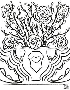 Free Coloring Pages — Tracey Wirth Designs