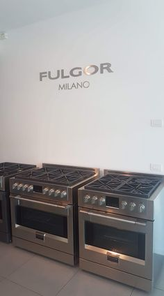 The professional Range from Fulgor Milano