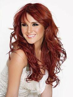 roodbruine haarkleur