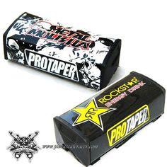 Protector de Goma Para Manillar ProTaper de Motocross Diseño RockStar o MetalSkull -- 8,65€