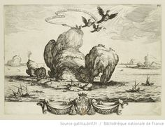 [Le grand rocher] : [estampe] / [Jacques Callot] - 1