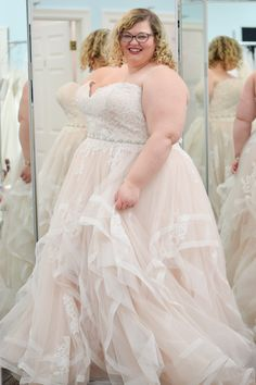 An Introduction to Bombshell Bridal Boutique: Metro Detroit's plus size bridal destination! Located in St Clair Shores and specializing in curvy brides. Plus Size Brides, Plus Size Wedding, Bridal Dresses, Wedding Gowns, Bridesmaid Dresses, Fat Bride, Curvy Bride, Mode Chic, Big Girl Fashion