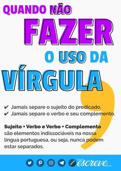 Portuguese Grammar, Portuguese Lessons, Learn Portuguese, School Notes, I School, Mind Gym, Mental Map, Essay Tips, Writer Tips
