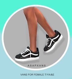 Vans Pink Old Skool Sneaker for The Sims 4 | The Sims 4