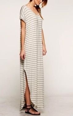 Slouchy Maxi Dress