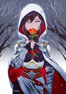 Rwby Anime, Rwby Fanart, Anime Manga, Anime Art, Prince Andrew, Summer Rose Rwby, Elizabeth Ii, Character Art, Character Design