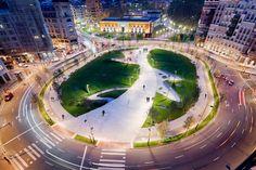 Plaza-Euskadi-by-Balmori-Associates-01 « Landscape Architecture Works | Landezine #landarch #urbandesign