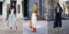 Culottes gehören zu den Lieblingen der Mode-Szene. Doch viele wissen gar nicht, was Culottes überhaupt sind - geschweige denn, wie man sie richtig stylt...